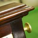 Moulding on Antique roller scorebord Thos Padmore