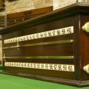 Antique roller scorebord Thos Padmore
