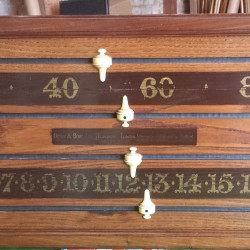 Orme and sons antique snooker scoreboard.Art Deco.