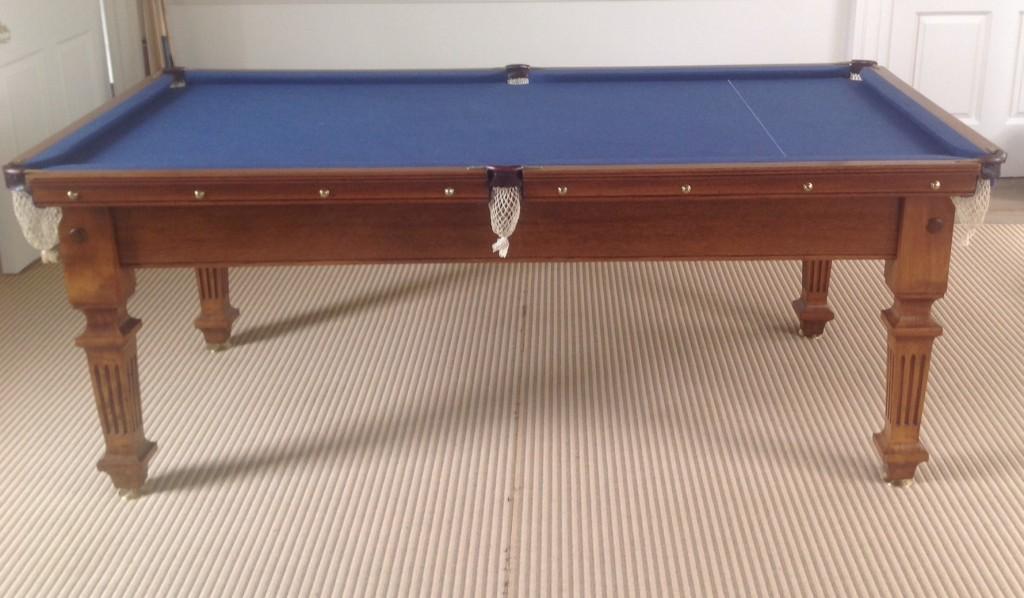 7ft Jelks antique snooker diner blue cloth (1)