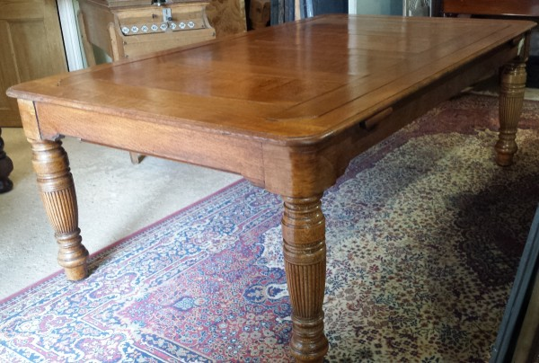 6ft Rollover Antique Snooker Dining Table Padmore