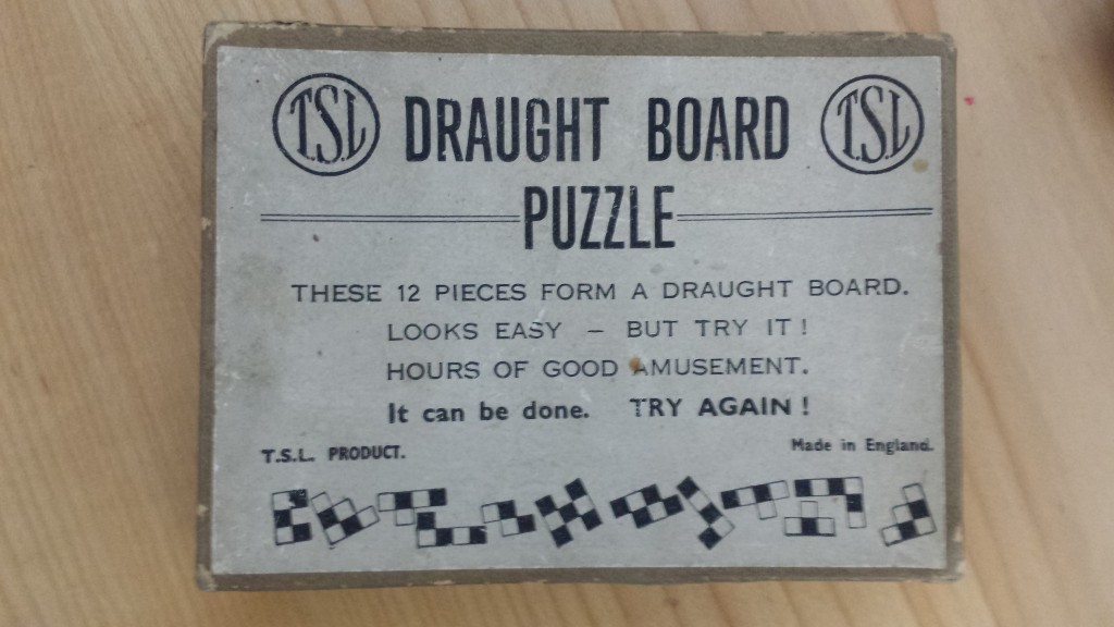 vintage chess board game