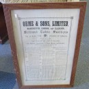 Orme framed rules. The Rules of the Game of Billiards.
