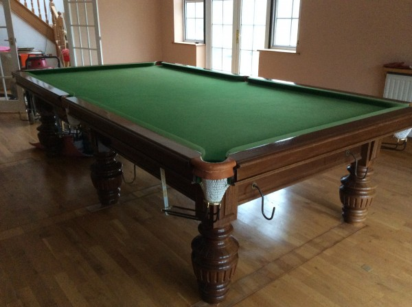 10 ft snooker table birmingham billiards second hand for 10 foot snooker table
