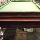 Gamages antique rollover snooker dining table