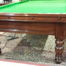 John Bennett 9ft antique snooker table
