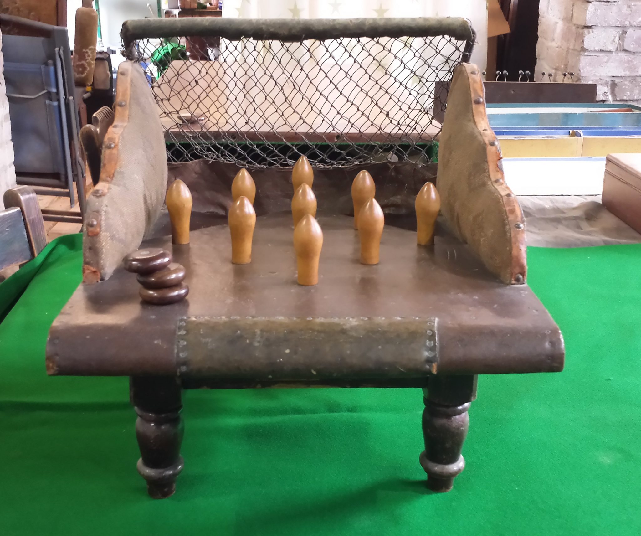Featured Item Northamptonshire Skittles Table Browns