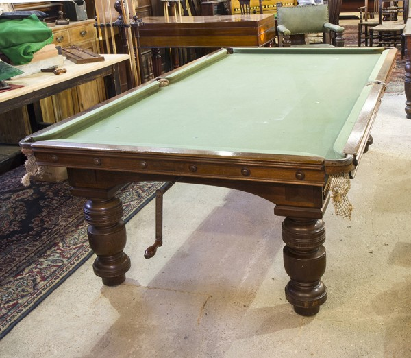 Antique Snooker Dining Table