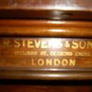 R Stevens & Sons 8ft mahogany snooker dining table