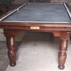 Burroughes and Watts antique pool table