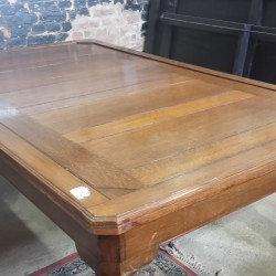 Burgess antique rollover snooker dining table in oak