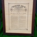 Antique framed pyramids rules by Thurston