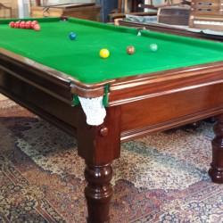 8ft Stevens snooker pool table