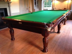 10ft Burroughes and Watts billiards table