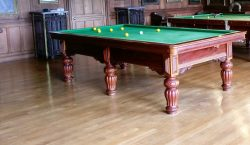 8ft antique snooker pool table