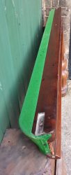 9ft Burroughes and Watts antique snooker table B726