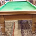 8ft Riley antique snooker table,mahogany