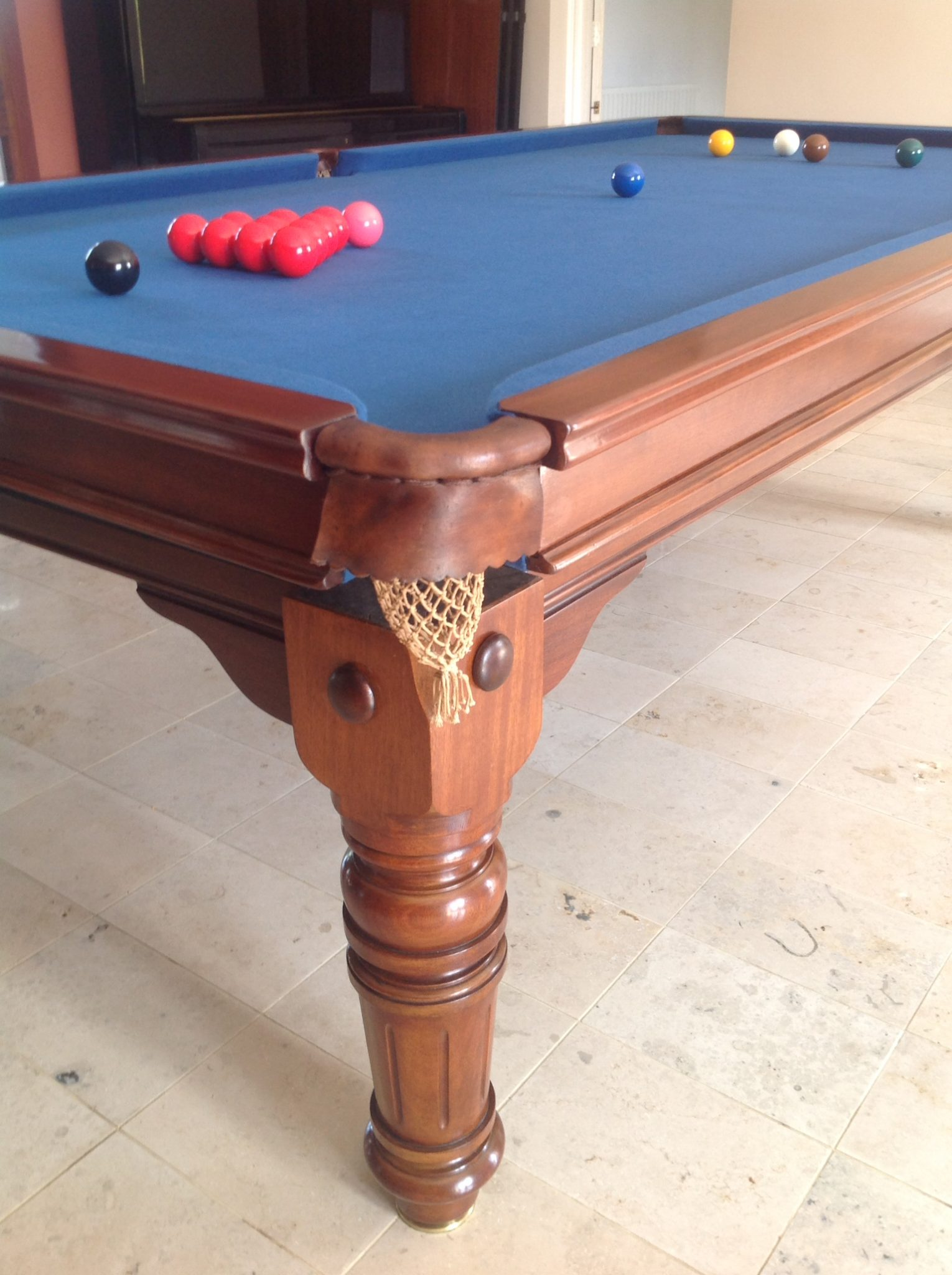 Antique snooker dining tables browns antiques billiards for 10 snooker table