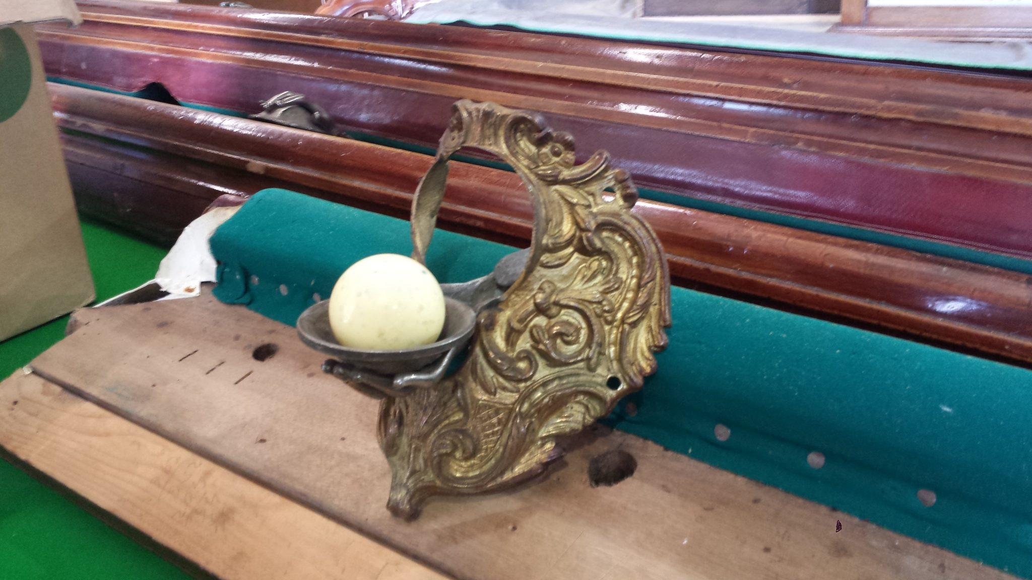 Stunningitalianpooltable Browns Antiques Billiards And - Italian pool table