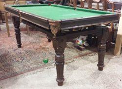 6ft oak Riley antique snooker dining table