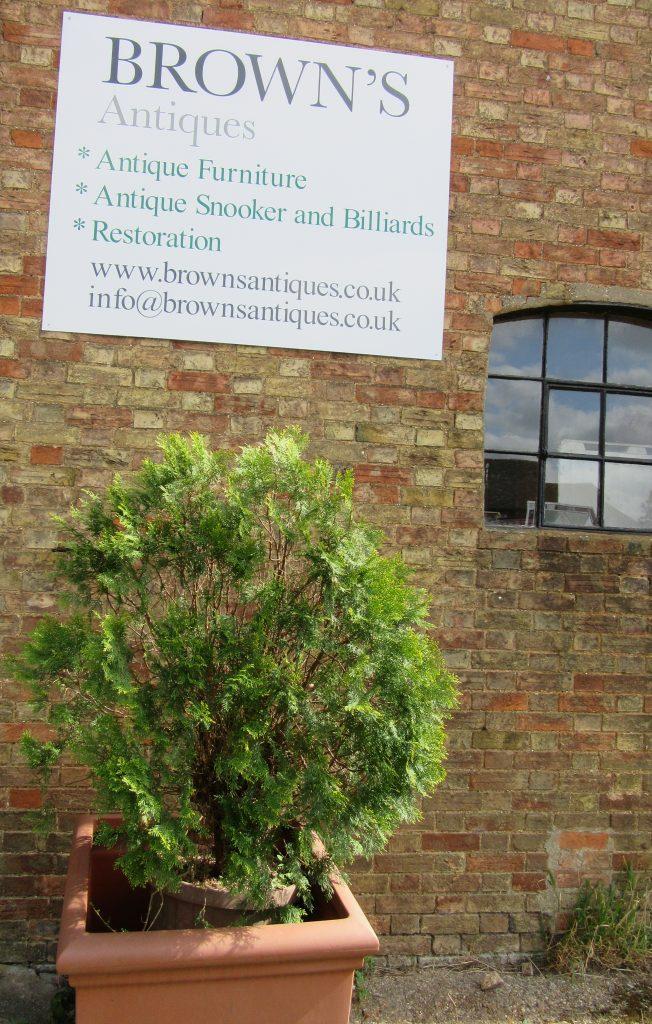 Brown's Antiques Billiards & Interiors Cardington