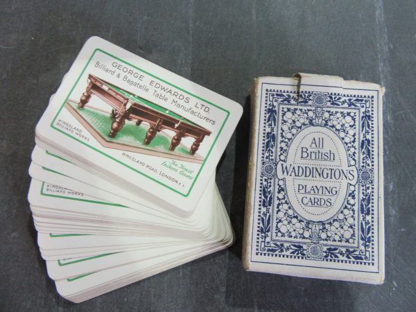 Antique Playing Cards George Edwards Ltd Browns