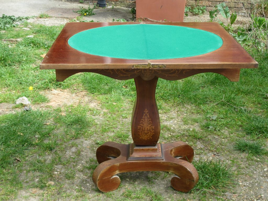 Antique Cards Table