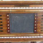 Burroughes & Watts life pool scoreboard.B252