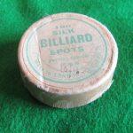 Permac Special silk billiard spots