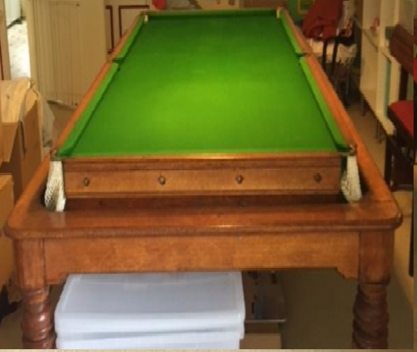 Orme Antique Rollover Snooker Dining Table 8ft 9ft