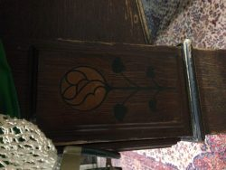 Burroughes and Watts. Arts and Crafts snooker table leg detail.