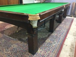 Burroughes and Watts Arts and Crafts snooker table