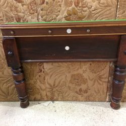 Gamages 7ft mahogany billiards table
