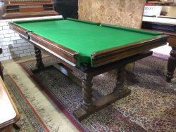 B790 Riley 7ft oak snooker diner