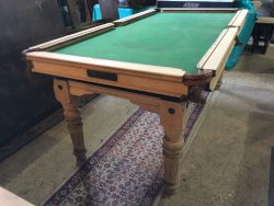 Antique Riley 6ft snooker dining table
