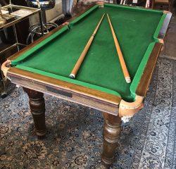 5ft Riley antique snooker diner