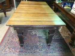 B794 Riley 6ft oak snooker dining table