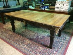 B794 Riley 6ft oak convertible snooker dining table, dining surface