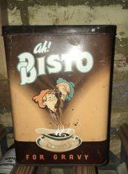 Vintage Bisto tin