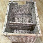 Vintage Log / Storage Baskets