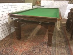 Riley 8ft snooker dining table