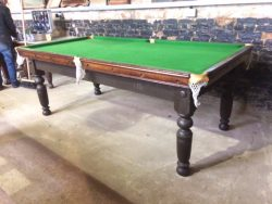 Padmore 7ft antique snooker table in mahogany