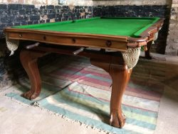 Riley antique convertible snooker dining table.