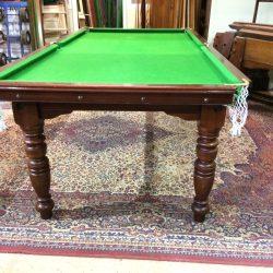 7ft mahogany Riley billiards table
