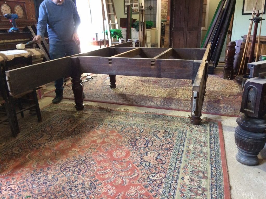 Geo Wright antique full size table