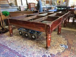 Geo Wright antique full size table B777