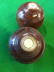 B833 Taylor Rolf billiards bowls boxed