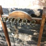 B835 antique Edwardian cue stand