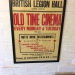 Combe Martin British Legion Cinema Poster