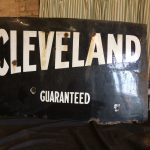 Cleveland Metal Sign